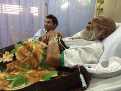 Abdul Sattar Edhi Sick