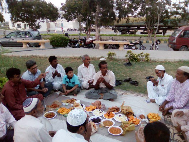Bazm Saif Zafar Aftar Party