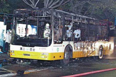 China Bus Blast