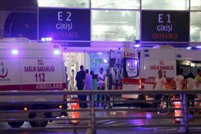 Istanbul Airport Blast