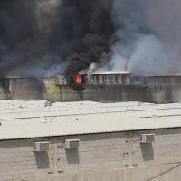 Labor Camp Fire