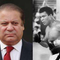 Nawaz Sharif and Mohammad Ali