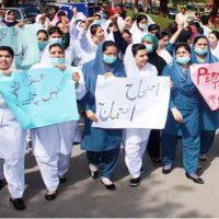 Nurses Protest