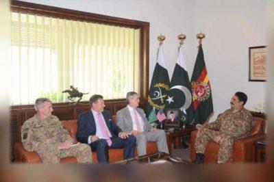 Raheel Sharif and US Delegation Met