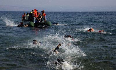 Refugee Boat Sink