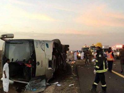 Riyadh accident