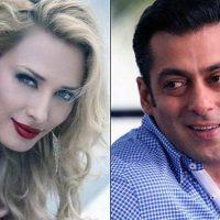 Salman khan and Lulia Vantur