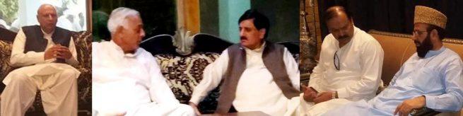 sarwar khan , sheikh aftab , sardar yousaf  etc at pic nosheri