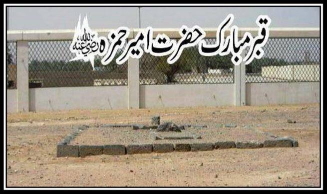 Grave of Sayyedna Ameer  Hamza a.s