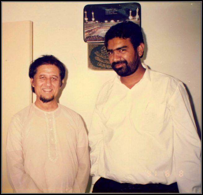 Engineer Zaidi with Dr. Kalbe Sadiq Ph.D 8th of June 1991