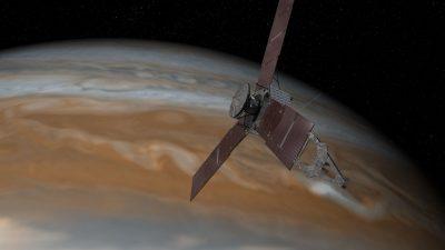 Juno probe enters into orbit around Jupiter