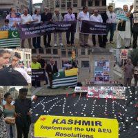 Kashmir Council EU-Candles Light Vigil