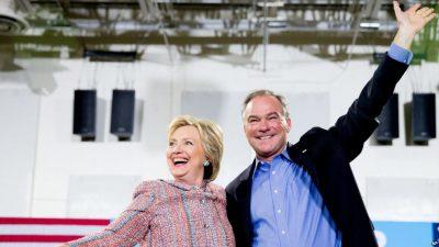 Ken Democratic and Clinton