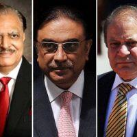 Nawaz Sharif, Mamnoon Hussain, Zardari