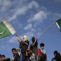 Kashmir Pakistani Flags