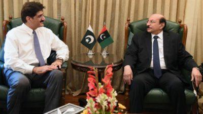 Qaim ali Shah and Murad Ali Shah