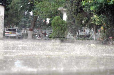 Rains in Mardan