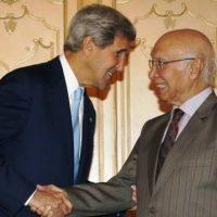 Sartaj Aziz John Kerry Met