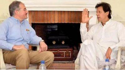 Turkish Ambassador and Imran Khan Met