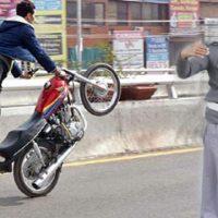 one wheeling moto