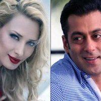 Salman khan and Julia Vantur