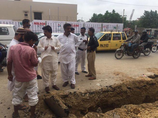 shanti nagar kaamjari counciler Faiq Muhhammad