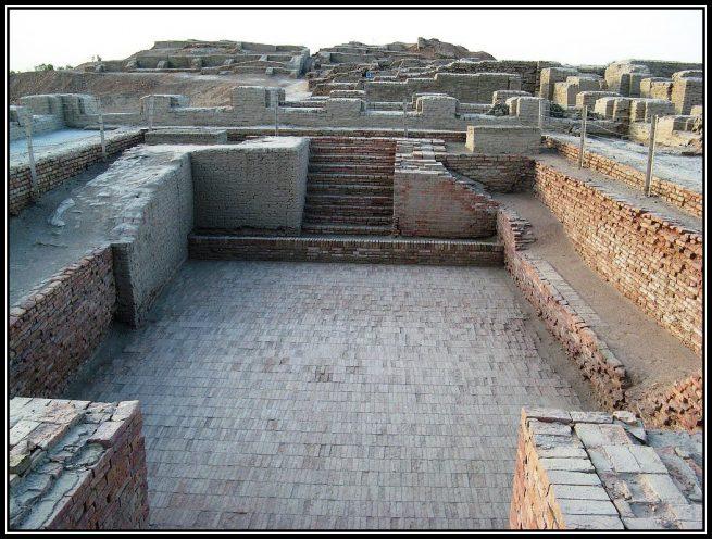 A Bath at Mohenjo Daro