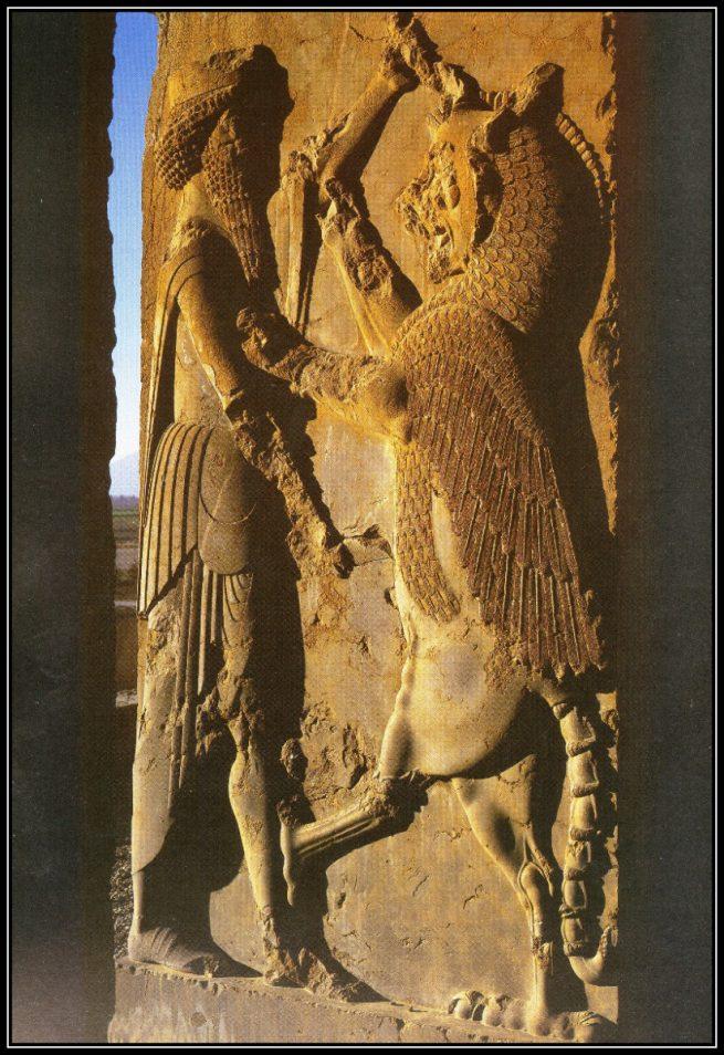 History Carved at Persepolis