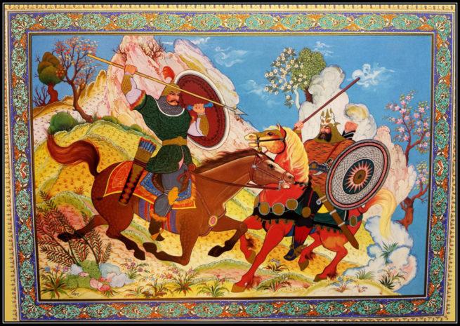 Rostom Sohrab of Shahnameh
