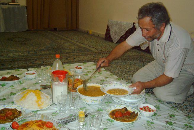 Host Mr. Majeed Farrukhi Kashani in Mashhad