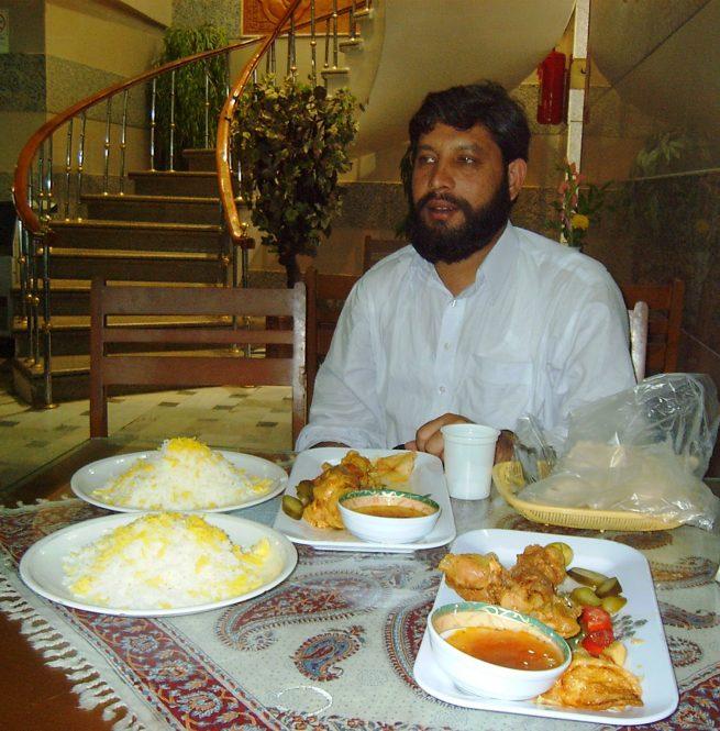 Lunch in Qom
