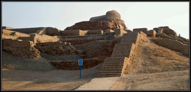 Buddhist Stupa at Mohenjo Daro