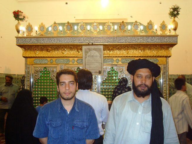 In Darbar e Mahrouq with the host Mahdi Farrukhi