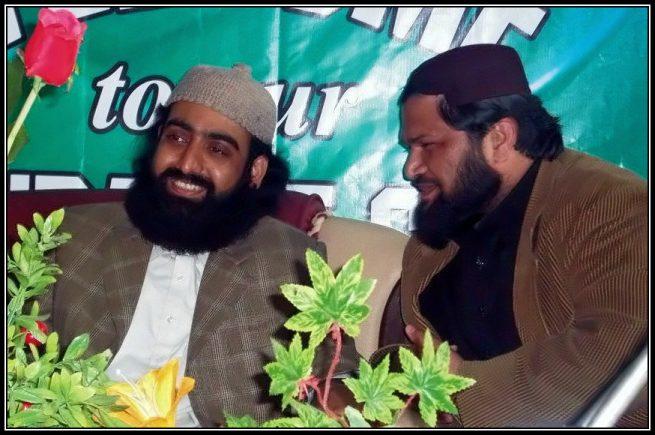 Sahibzada Ateeq Chishti with Pir Nizamuddin Jami Golra Shareef