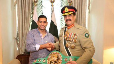 Aamir Khan and General Raheel Shirf