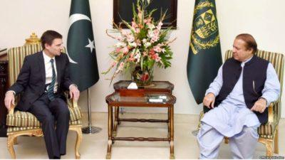 David Hale and Nawaz Sharif Meeting