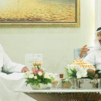 King Salman bin Abdul Aziz-Meeting