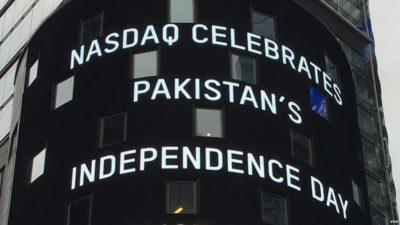 Nasdaq Celebrates Pakistani Independec Day