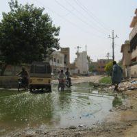 Poor Sewage Management