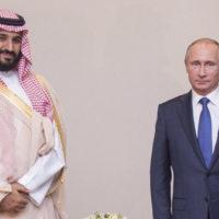 Prince Mohammad Bin Salman, Vladimir Putin