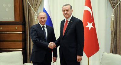Putin and Recep Erdogan