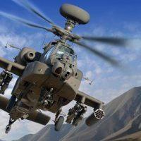 Saudi Apache Helicopter