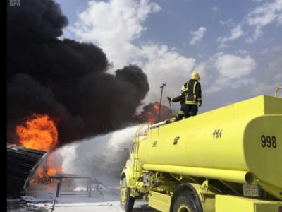 Saudi Power Plants, Destroyed