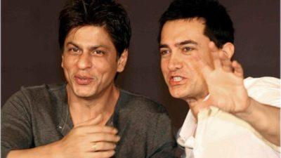 Shahrukh Khan and Aamir