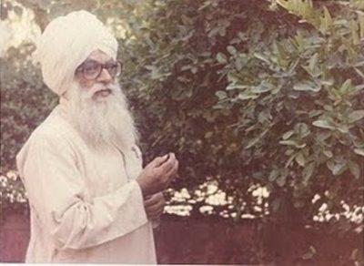 Sirdar Kapoor Singh Ji