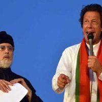 Tahir ul-Qadri and Imran Khan