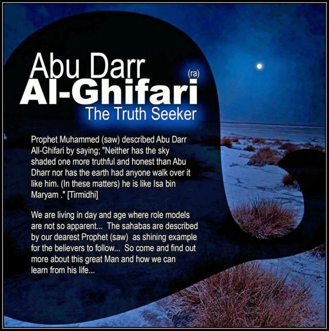 Abu Zarr Ghefari ra