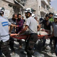 Aleppo Fighter Jets Attack