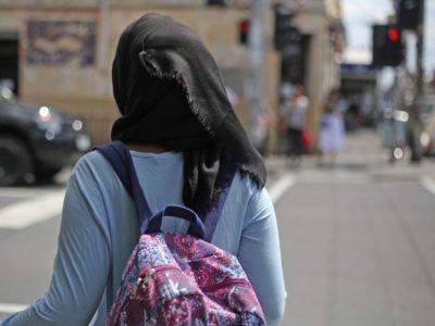 Hijab Girl Going