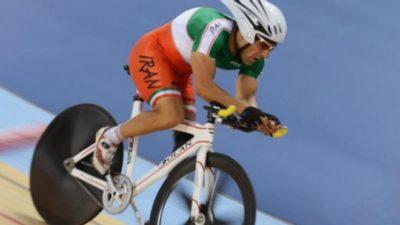 Iranian Para  Cyclist